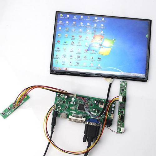 HDMI VGA 2AV LCD Controller Driver Board for 10.1 inch B101UAN02 1920x1200 hdmi vga 2av audio lcd driver board for 17inch 19inch m190eg03 1280x1024 lcd m170eg01 m170en06 5 ltm170e6 ltm170e8 hsd170me13