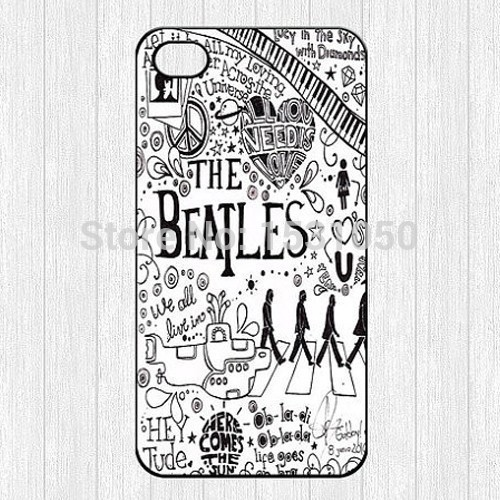 unique The Beatles phone case for iPhone 4s 5s 5c 6 6s
