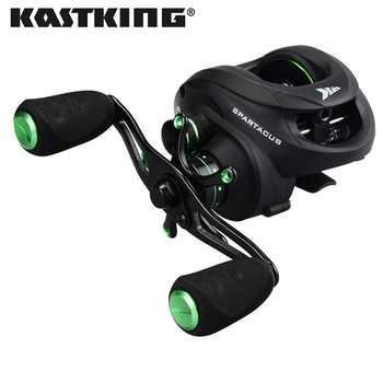 KastKing Spartacus Multi Color 8KG Drag Freshwater Baitcasting Reel Carbon Fiber Drag 17.5 LBs Right Left Hand FIshing Reels - SALE ITEM Sports & Entertainment