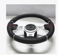 GV SW300 Momo Steering Wheels For Car Auto Racing Steering Wheel With Genuine Leather Universal 14