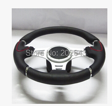 GV SW300 universal steering wheels for car auto racing steering wheel with genuine leather universal 14