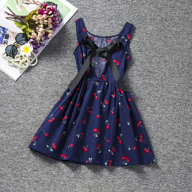 ea90caf9b 1 8 Years Baby Girl Dress 2018 New Summer Style Girls Cotton ...
