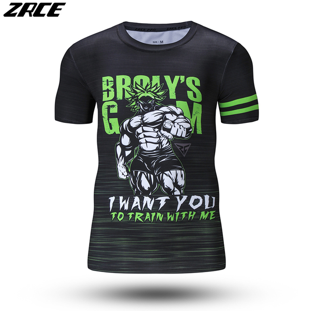 a3498b7fd7 ZRCE Verão Para Homens Camiseta de Impressora 3d Bola Dragão T camisa Moda  O-pescoço