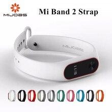 Mi empregos mi banda cinta Acessórios Banda Pulso Silicone pulseira Pulseira Inteligente Mi 2 band2 cinta para xiao Mi mi Band2 filme preto