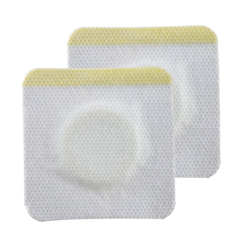 100 Pieces/lot Non-woven Medical Dressing Tape Drug Patches Breathable Medicinal Wound Dressing Fixation Tape First Aid Supplies