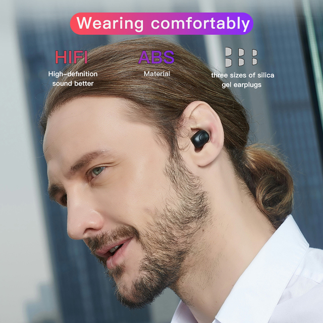 Bluedio T-elf TWS Bluetooth Earphone 5.0 original with charging boxin ear sport wireless headphone for music and cell phones 4