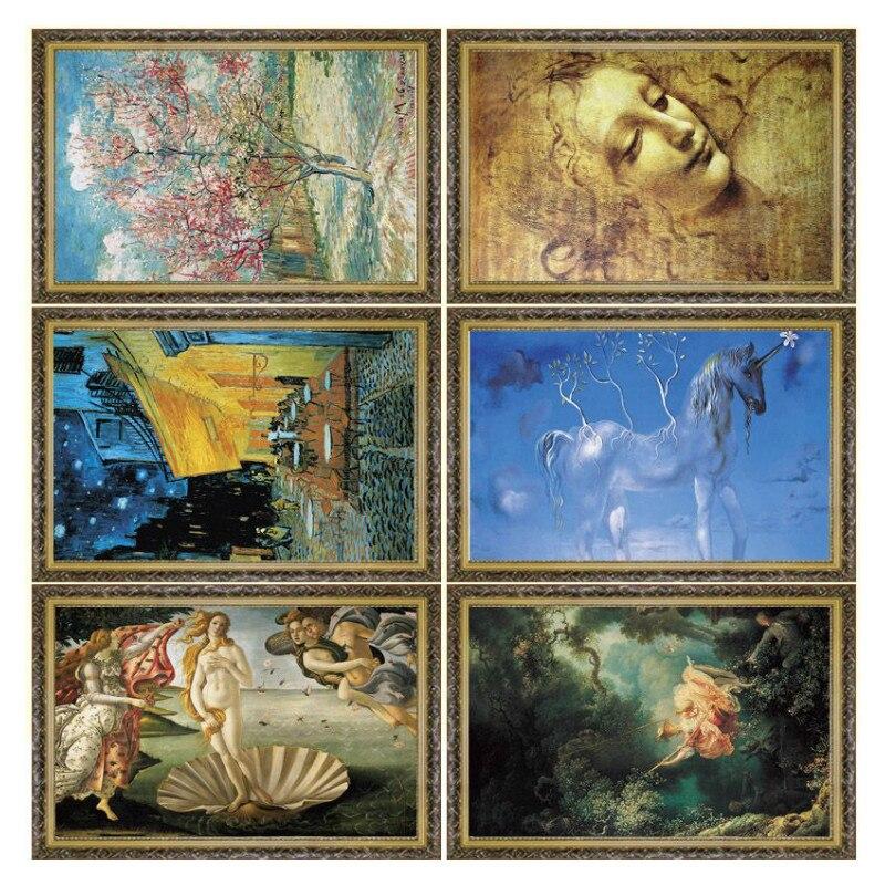 Vente chaude Vieux Maître Peinture À L'huile Puzzles La Naissance - Jeux et casse-tête - Photo 5
