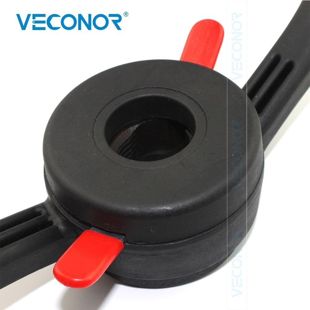 40X3mm Pitch Quick Release Nut Lug Nut Screw Wing Nut Rim Insert Nut Rigid Plastic Material For Wheel Balancer Machine