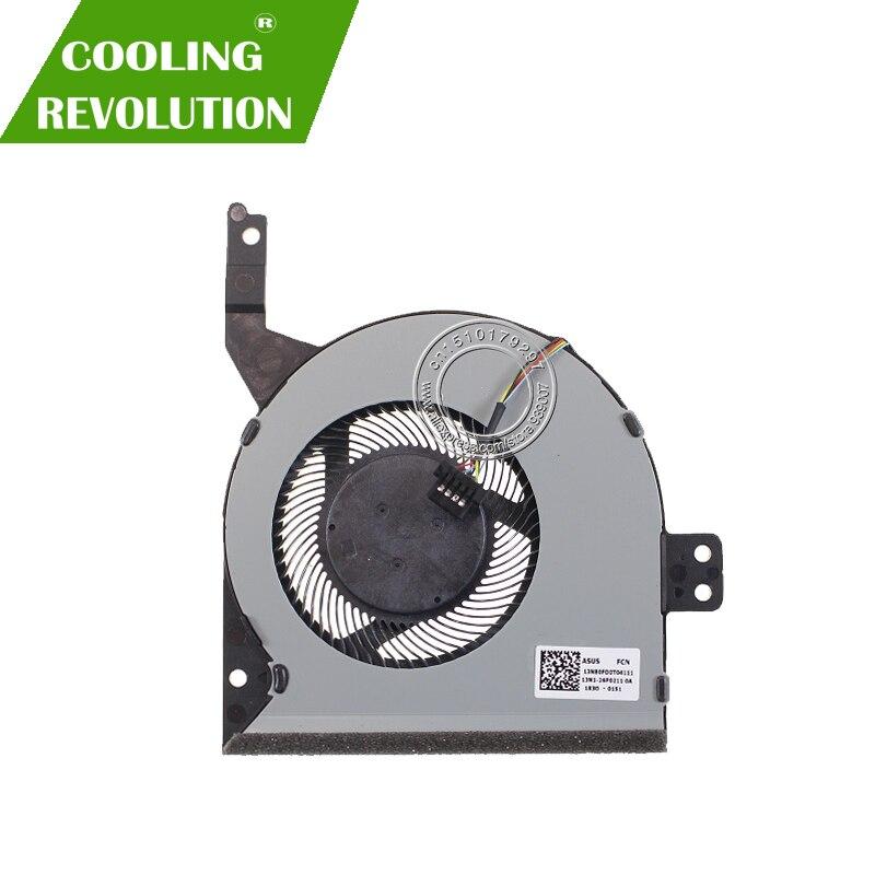 Nouveau ventilateur de refroidissement dorigine pour ASUS X542 X542BA X542U X542UA X542UQ X542UR 13N1-26P0211 13NB0FD0T04111Nouveau ventilateur de refroidissement dorigine pour ASUS X542 X542BA X542U X542UA X542UQ X542UR 13N1-26P0211 13NB0FD0T04111
