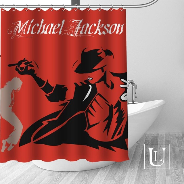 7 Shower Curtain Michael jackson shower curtain jackson galaxy 5c64f7a44ec73