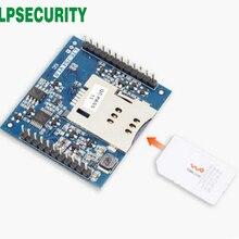 Сетевой прозрачный режим передачи последовательный порт и сетевой сервер USR-LTE-7S4 Серийный Модуль UART 4G