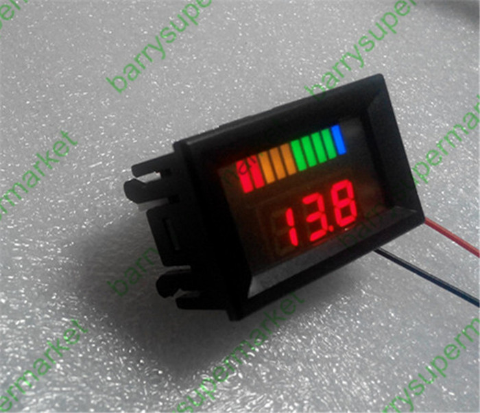 digital battery tester discharge voltage indicator meter. Black Bedroom Furniture Sets. Home Design Ideas