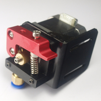 Swmaker 3d 프린터 압출기 오른손 보우 덴 압출기 키트/세트 (모터 없음) 3mm 필라멘트 용 금속 압출기 소형 압출기