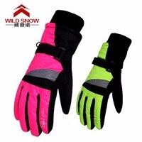 NEW Children Winter Snowmobile Ski Gloves Kids Girls Waterproof Skiing Snowboarding Gloves Windproof Lovely Boy And