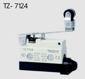 Micro switch TZ-7124 AZ-7124 touch switch / limit switch FREE SHIPPING tz me 8111 travel switch limit switch self resetting micro switch one open and one close