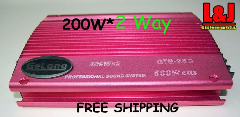 ФОТО GRB-360 2 Way Car Amplifier Car speaker  EQ / Stero