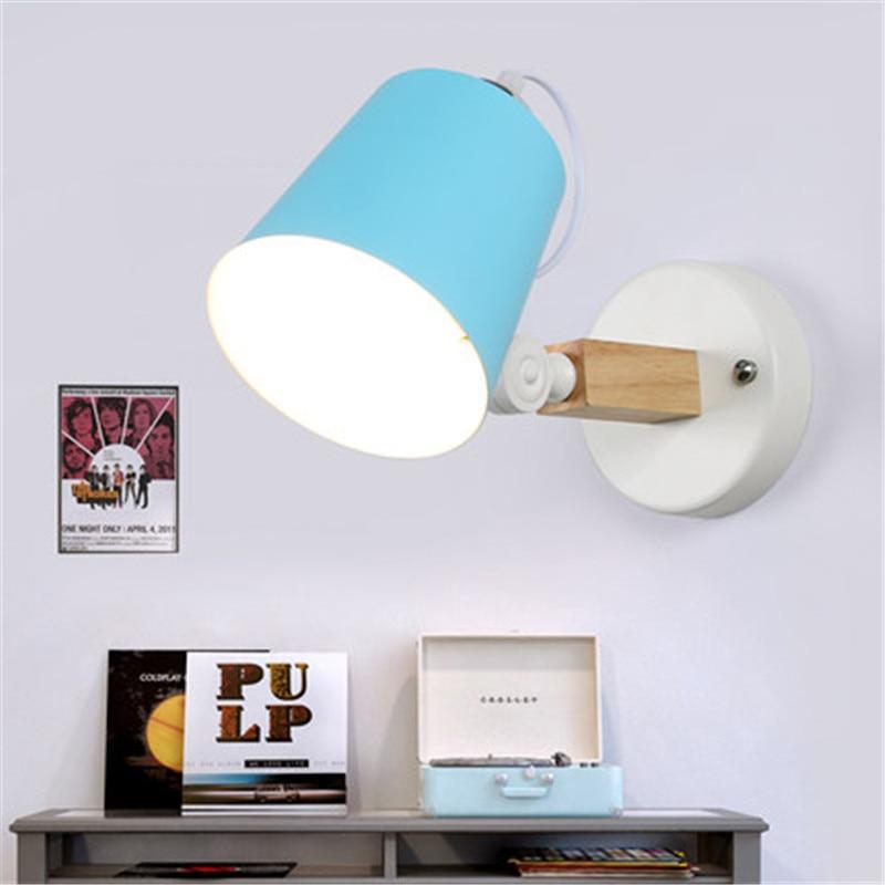Здесь продается  Creative Loft Style Iron Rotating Wall Sconce Modern LED Wall Light Fixtures Bedroom Bedside Wall Lamp Decorate Home Lighting  Свет и освещение