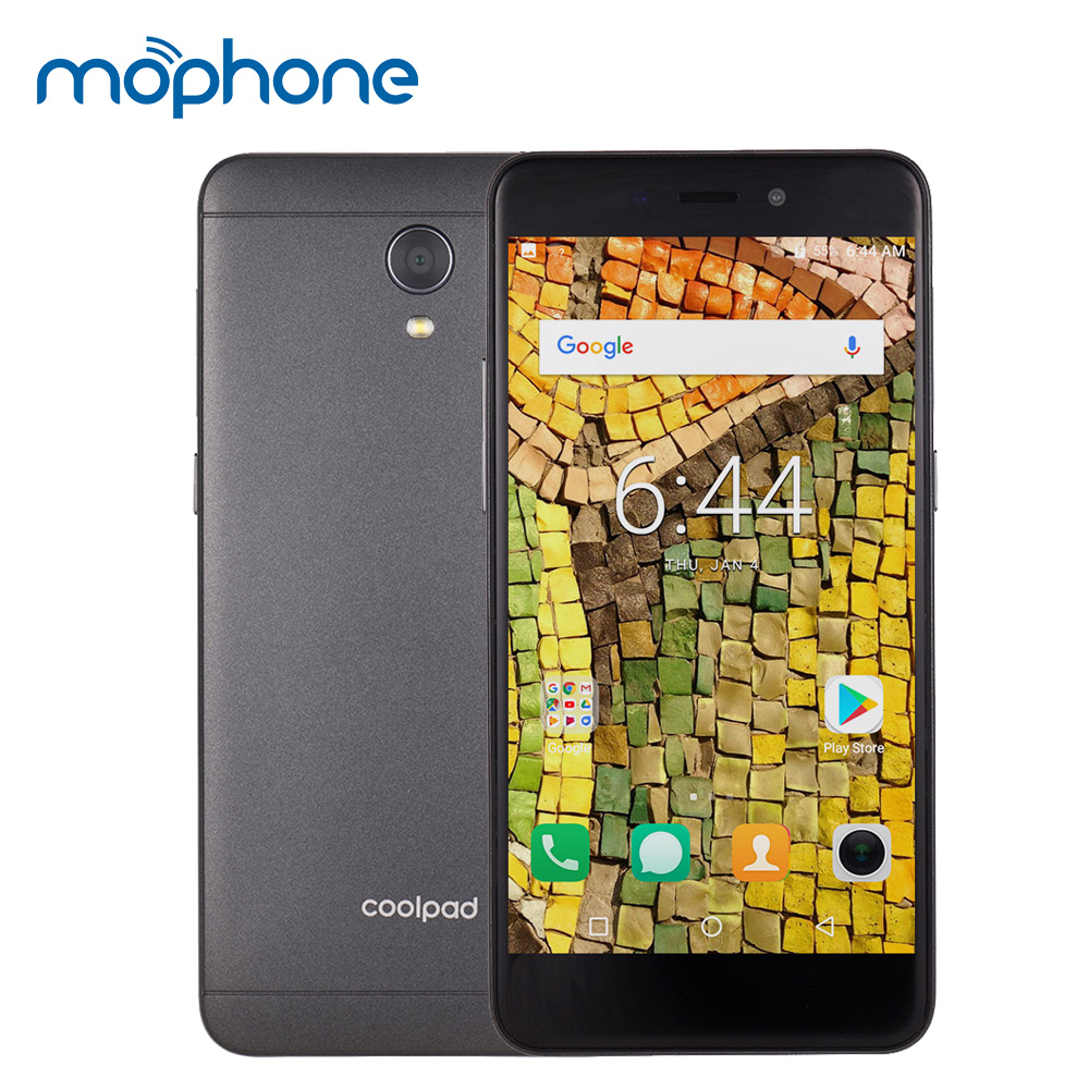 Coolpad E2C 4G 5 0inch HD Display Snapdragon MSM8909 Mobile Phone Android 7 1 Quad Core