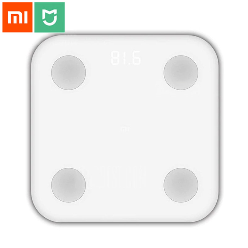 Original Xiaomi Smart Body Fat Scales bluetooth 4.0 LED with Hidde n LED Display with BMI Data Analysis Weight ToolsOriginal Xiaomi Smart Body Fat Scales bluetooth 4.0 LED with Hidde n LED Display with BMI Data Analysis Weight Tools