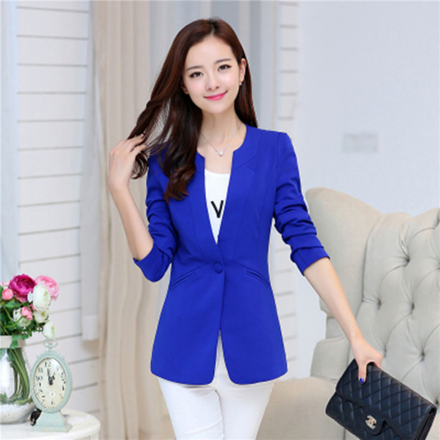 Plus Size Blazer Women Jackets Autumn Winter Ladies Suits For Work Mujer Blazer Female Jaquetas Feminino Ladies Clothes 60N0445