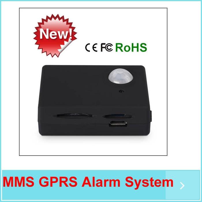 MMS GPRS Alarm System Wireless GSM Monitor SMS Control Autodial Home HouseOffice Burglar Intruder Security Alarm arduino atmega328p gboard 800 direct factory gsm gprs sim800 quad band development board 7v 23v with gsm gprs bt module