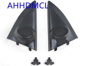 Głośnik samochodowy montaż głośników pudełka Audio drzwi kąt guma dla Isuzu d-max 2012 2013 2014 2015 2016 2017 2018 2019 tanie i dobre opinie AHHDMCL 0 2kg Car audio door angle gum tweeter refitting Black ABS+PC+Metal Skrzynek głośnikowych