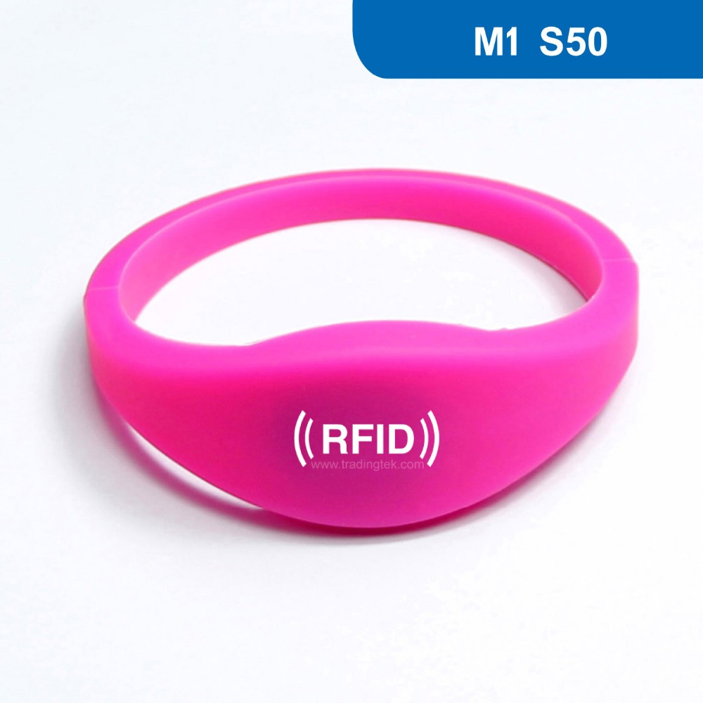 WB03 Silicone Rubber RFID Wristband for Access Control NFC Bracelet 13.56MHZ 1KBYTE R/W ISO14443A with M1 S50 Chip wb01 hot sales silicone rfid wristband for access control nfc bracelet iso14443a 13 56mhz with m1 s50 chip free shipping