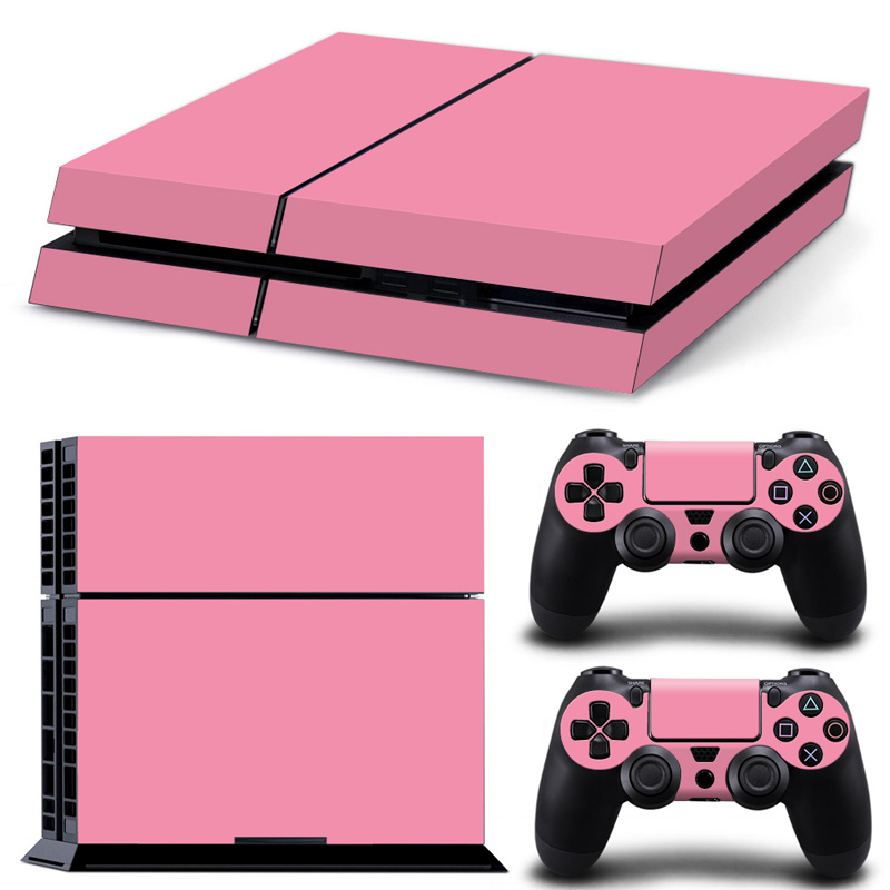 Stickers Playstation 2-Controllers Protector Cover Ps4-Accessories Full Pink Sony