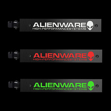 Newest For ALIENWARE Cool LED Jack Computer Atmosphere Lights Cold Light Stainless Steel MOD Light Board Graphics Support Frame(China)