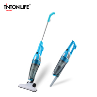 TintonLife New Ultra Quiet Mini Home Rod Vacuum Cleaner Portable Dust Collector Home Aspirator White Blue