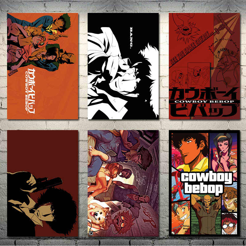 Cowboy Bebop Japan Anime Art Zijde Canvas Poster 13X20 24X36 Inch Muur Pictures-002
