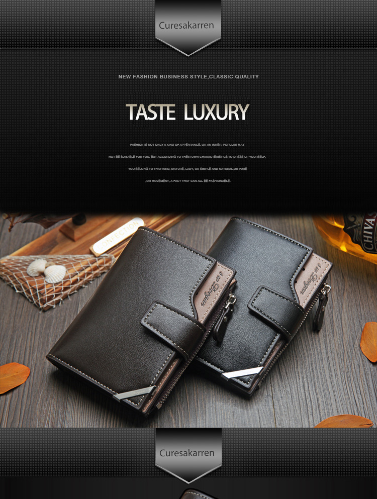 HTB1fLFsav1H3KVjSZFHq6zKppXah British casual multi-function Card Wallet