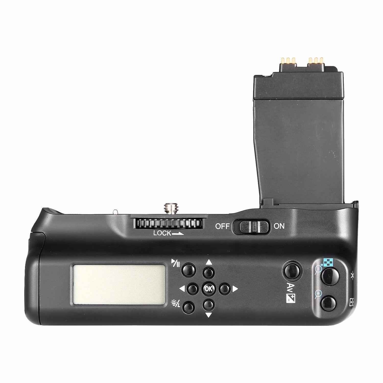 MeiKe MK-550D MK 550D LCD MK-550DL Batterie Prise Minuterie Batterie support de prise en main Pour Canon 550D 600D 650D 700D/Rebel T2i T3i T4i T5i