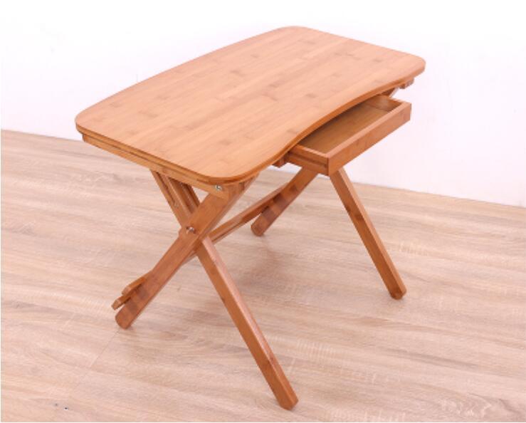 70*41 cm bambou pliant apprentissage bureau bureau bureau enfants Table avec tiroir70*41 cm bambou pliant apprentissage bureau bureau bureau enfants Table avec tiroir