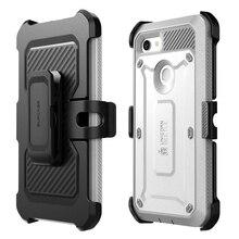Funda SUPCASE para Google Pixel 3, funda UB serie Pro, Clip resistente de cuerpo completo para pistolera, funda con Protector de pantalla incorporado