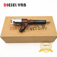6 PCS 320 0680 Diesel Fuel Common Rail Injection mad in china Engine CAT Injector C6 C6.4 3200680 for Tracked Excavator 320D
