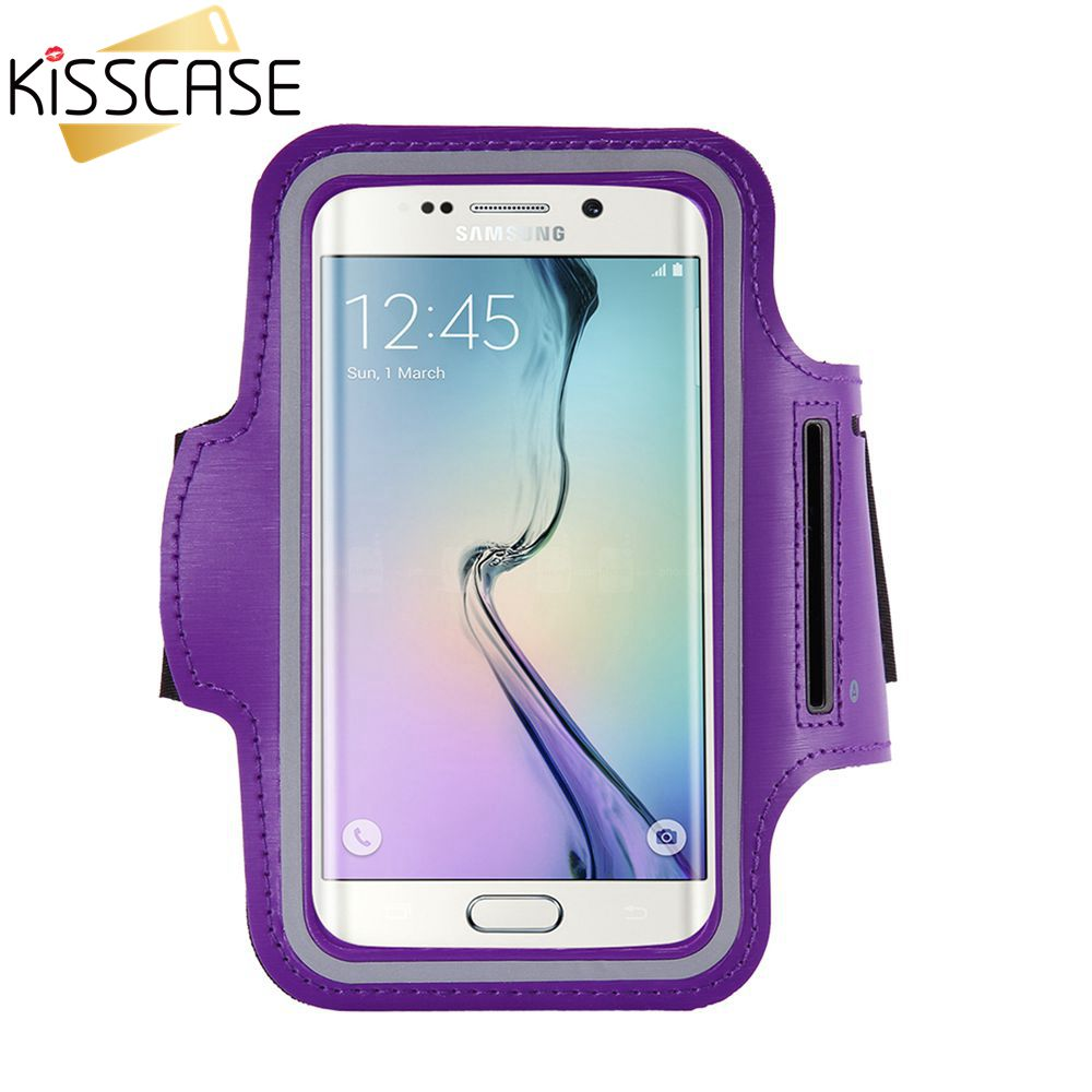 KISSCASE Fashion Sports Gym Case For Samsung Galaxy S6 Edge S5 S4 S3 For HTC One M9 M8 M7 Casual Running Riding Cover Arm Band