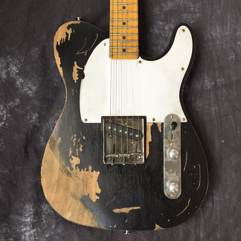 Custom Shop, Classic Electric Body Guitars relics by hand. Support customization. 100% handmade TL Guitars Limited Edition custom shop handmade telecast gitaar tele electric guitar relics by hands purple color top master build relic tl guitarra