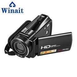 Full HD 1080P Digital Video Camcorder Professional 24 Mega Pixels DV 16X Digital Zoom,Support Face&Smile Detection