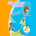 2016 New style Ultra air power Rocket outdoor fun games flying security interactive toys kid best Space enthusiasts gift for kid
