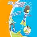 2016 Nuevo estilo Ultra aire Cohete potencia divertidos juegos al aire libre seguridad de vuelo interactivo juguetes para niños el mejor regalo de los amantes del Espacio para kid