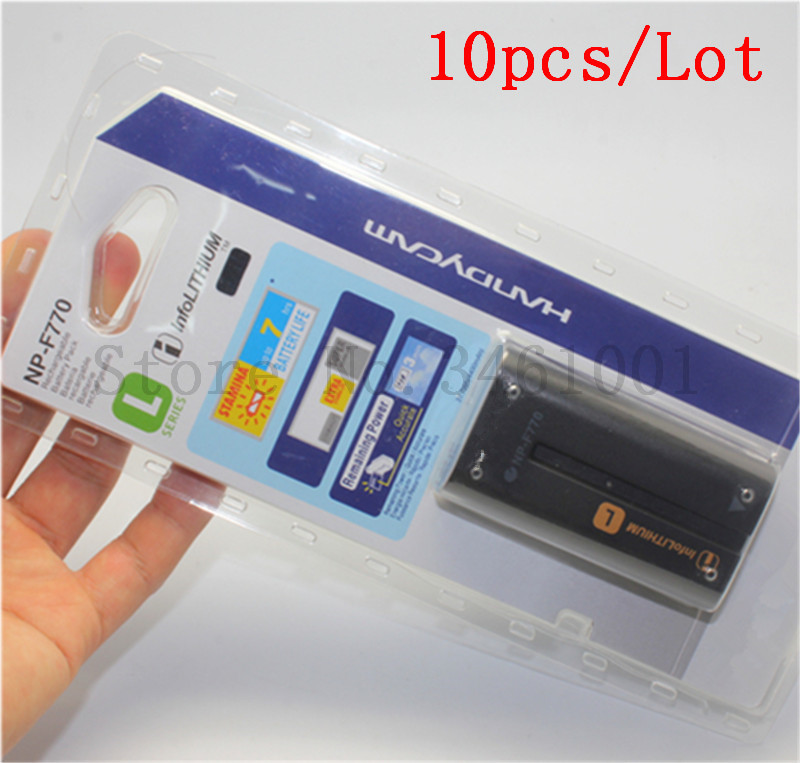 10pc lot NP F770 NPF770 Batteries For SONY F750 CCD TRV58 TRV110K TRV26E Z1 V1J Z1P
