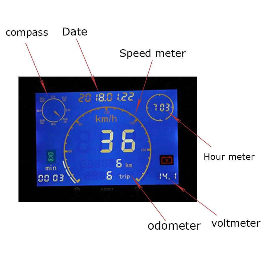 Detail Feedback Questions About 1pcs 12v 24v New Multifunction Gps