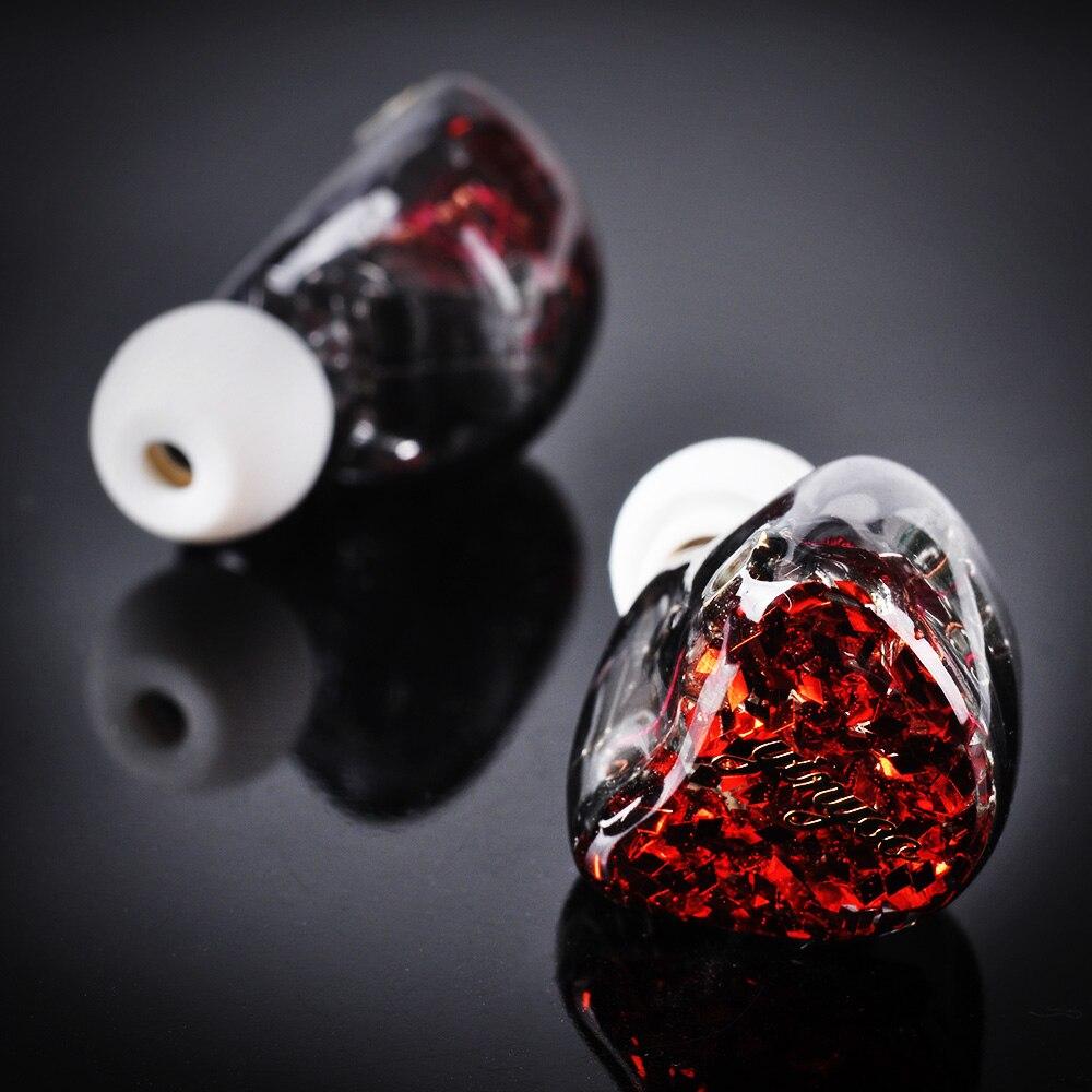 Yinyoo HQ12 12BA dans l'oreille écouteur fait sur commande Armature équilibrée autour de l'oreille écouteur écouteurs écouteurs avec MMCX câble amélioré - 4