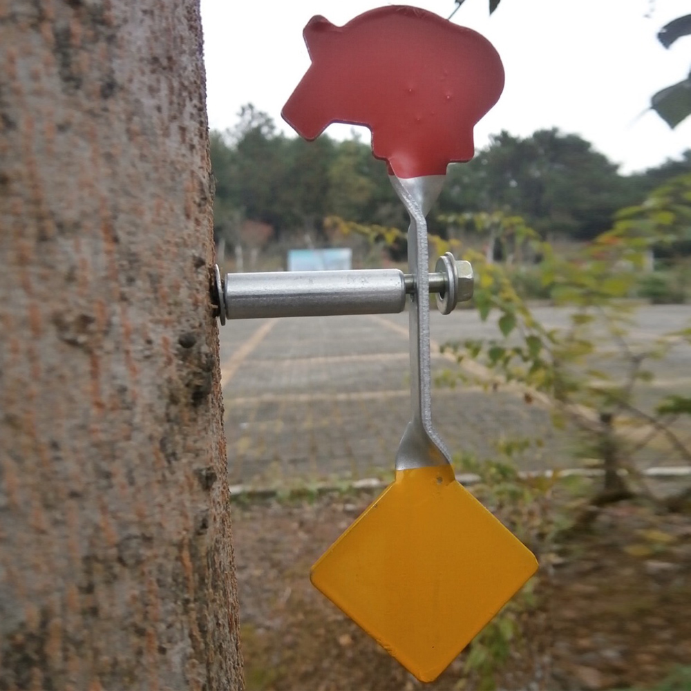 Wild boar + square spiral wire Plinking Target suitable for paintball lead particle gun, steel bbs, slingshot shooting