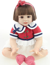 24 inch Toddler Reborn Fridolin baby high quality gift doll for girls