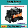 Оригинальный США Comway C6 FTTH Оптических Fusion Splicer DHL Бесплатная Доставка
