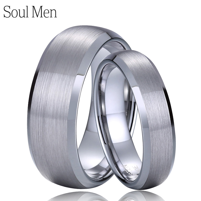 Engagement & Wedding Titanium 925 Sterling Silver Inlay 8mm Brushed Wedding Ring Band Size 11.50 Easy And Simple To Handle