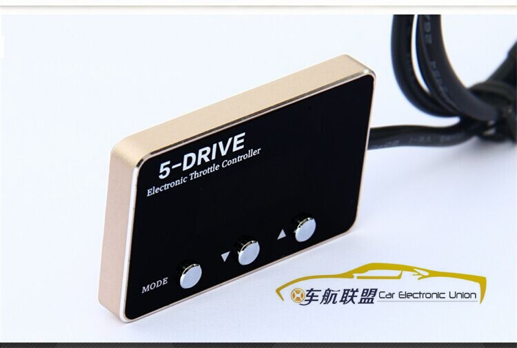 Pedaleo asistido más ampliación de potencia Controlador Electrónico Del Acelerad