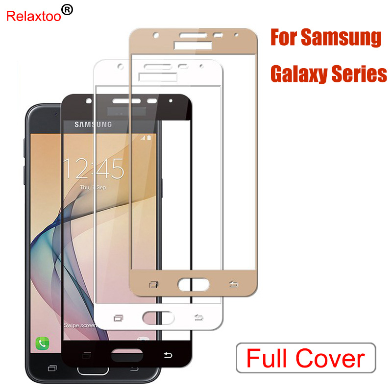 Cover Case For Samsung Galaxy J5 Prime Tempered Glass For Samsung J2 J5 J7 Prime G532F G570F G610F Screen Protector Film Coque